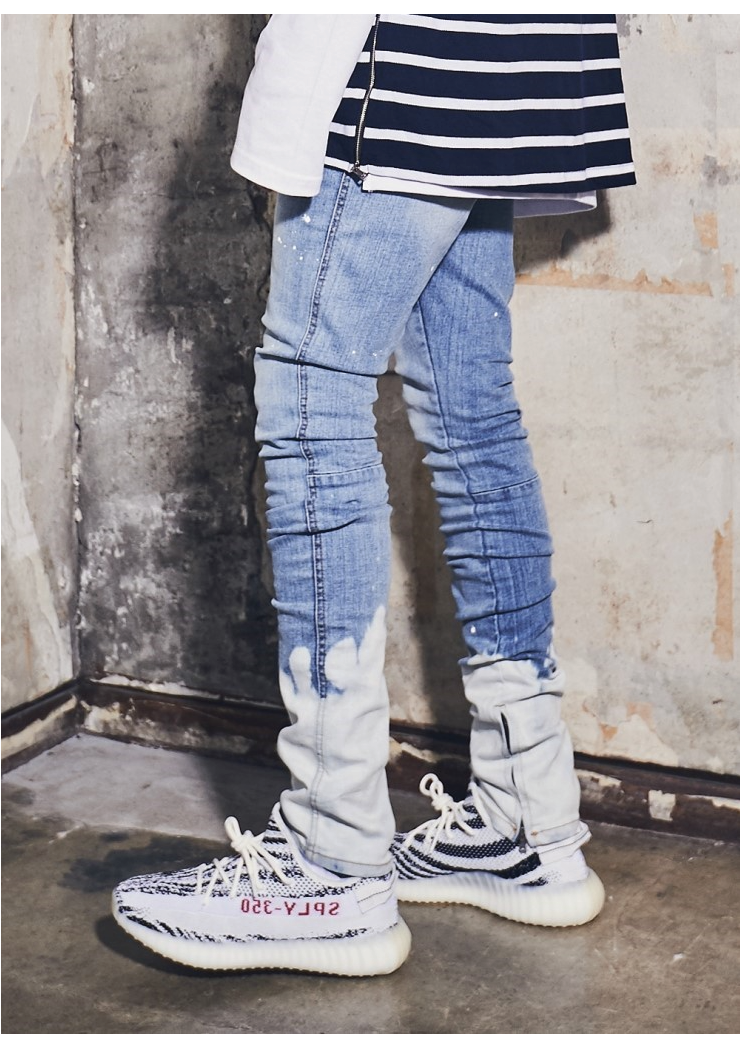 (단독가)라울 LAUL PAINTING ZIPPER JOGGER PANTS 라울 페인팅 지퍼 조거팬츠
