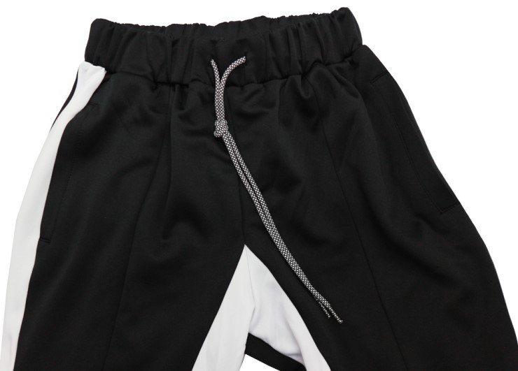 (단독가)라울 LAUL SIDE LINE TRAINING PANTS BLACK 라울 사이드라인 트레이닝팬츠 블랙