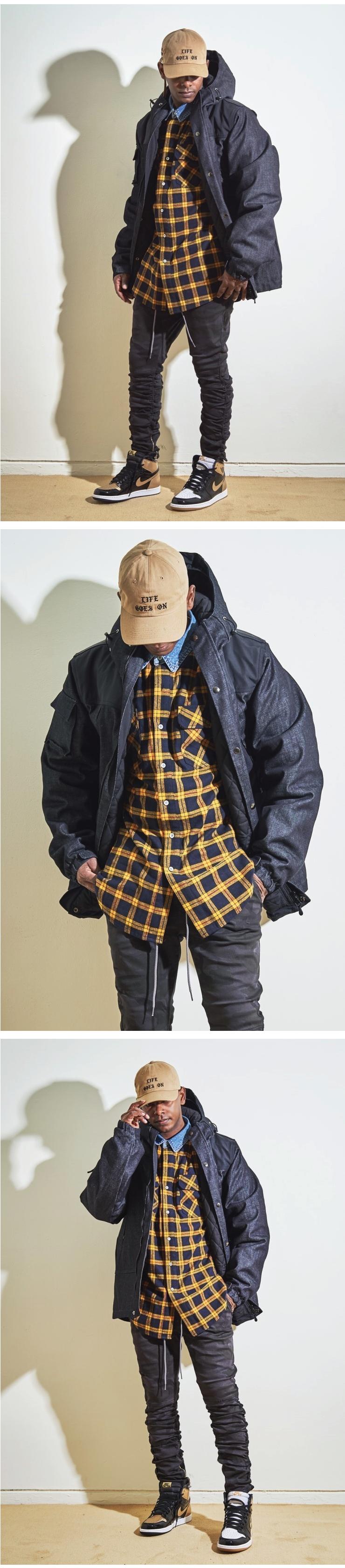 (단독가)라울 HEAVY OUTER Denim Quilting Mountain Jacket 라울 데님 퀼팅 마운틴 자켓