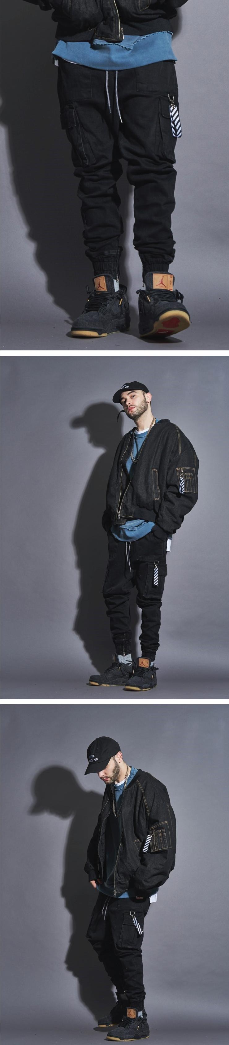 라울(LAUL) [재입고]COMFORTABLE CARGO JOGGER PANTS BLACK  컴포터블 카고 조거팬츠 블랙