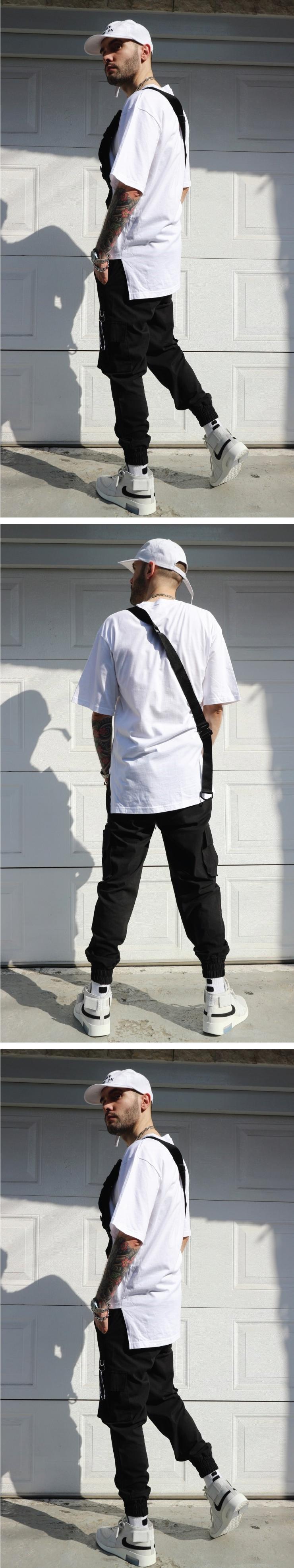LAUL LINEN CARGO JOGGER PANTS BLACK 라울 컴포터블 린넨카고 조거팬츠 블랙